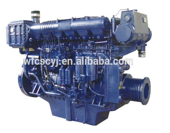 weichai diesel engine for boat usage /marine diesel engine